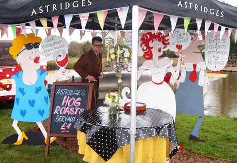 Wedding-catering-stand